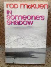 """1969 """"In Someone's Shadow"""" by Rod McKuen, 1st Printing HC w/DJ PRISTINE!"""