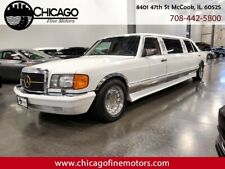 1988 Mercedes-Benz 400-Series Sel Limousine! One Of A Kind Limo! Collector Car!
