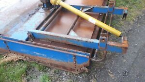 Belmac Belmont Topper 5ft 6, Tractor 3 Point Linkage Pto Driven