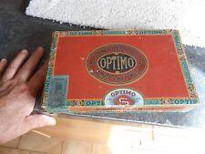 Ancienne Boite vide de Cigares Optimo
