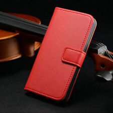 Flip Genuine Leather Wallet Case Cover For Apple iPhone 6 6S 7 7 Plus 4 5 5S SE