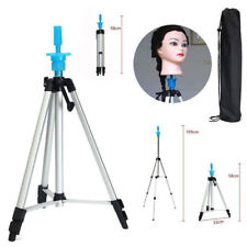 """55"""" Adjustable Tripod Stand Salon Hair Mannequin Training Head Hold + Carry Bag"""