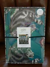 Emma J Shipley reversible CASPIAN duvet cover KING new boxed unicorn teal aqua