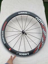 American Classic Carbon 58 Front Wheel, Clincher Rim Brake Perfect Condition !!!