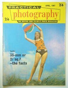 1967 APRIL PRACTICAL PHOTOGRAPHY BRITISH HOW-TO-DO PHOTO MAGAZINE UNITED KINGDOM