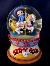 """Betty Boop """" You Oughta Be In Pictures """" - Globe Music Box - Works"""