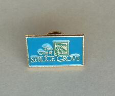 The City of Spruce Grove Alberta Lapel Hat Souvenir Pin