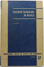 ELECTRON TRANSPORT IN METALS by J.L. Olsen (1962 Interscience Publishers) FIRST