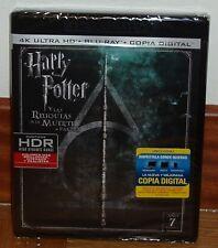 HARRY POTTER Y LAS RELIQUIAS DE LA MUERTE 2 PARTE-4K ULTRA HD+BLU-RAY-NUEVO-NEW