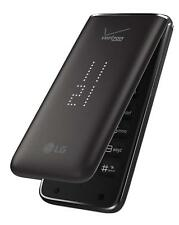 LG VN370 Exalt II Cell Phone (Verizon) 256MB 3G GPS Camera Bluetooth Flip Black