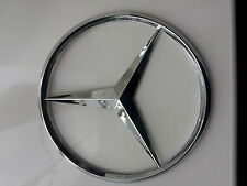 MERCEDES BENZ S C E CLASS CLK SLK REAR CAR LOGO BADGE EMBLEM - 9CM -FREE POSTAGE