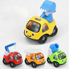 Cartoon Pull Back Construction Vehicle Truck Car Kids Children Play Toy Gift