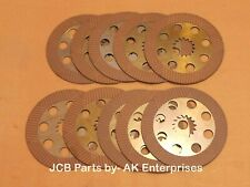 JCB Backhoe 3cx Brake Friction Plate Part No. 458/20353 450/10224