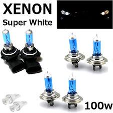 H7 H7 HB4 100w SUPER WHITE XENON UPGRADE HID Headlight Bulbs 12v HIGH/LOW/FOG A