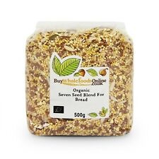 Organic Seven Seed Blend For Bread Making 500g | Free UK Mainland P&P