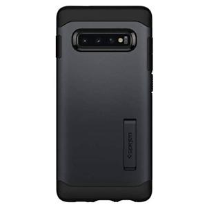 Spigen Slim Armor Case with Kickstand for Samsung Galaxy S10 - Metal Slate