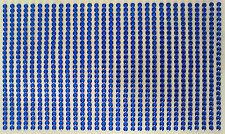 800 STRASS ADESIVI COLORE BLU 3 mm  CORPO UNGHIE NAILART DECORAZIONI