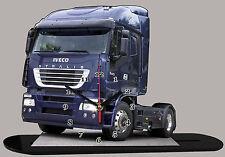 MINIATURE, MODEL CARS, CAMION, TRUCK IVECO STRALIS -01 en horloge