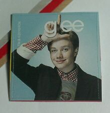 GLEE GLEEK CHRIS COLFER KURT BLUE L SHAPE TV STICKER