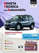 Manuale tecnico di riparazione e manutenzione auto - Suzuki Grand Vitara