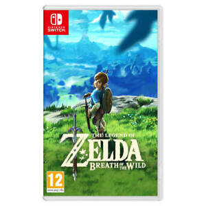 The Legend of Zelda : Breath of the Wild - Nintendo Switch