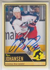 Autographed 12/13 OPC Ryan Johansen - Blue Jackets