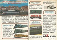 X0711 Italia Express - Treni RIVAROSSI - Pubblicità del 1976 - Vintage advertis.