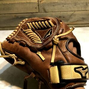 "Mizuno MVP GMVP1200F2 12"" Fastpitch Softball Glove Brown/Tan LHT LEFTY"