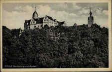 Rochsburg Sachsen Schloss Mulde Echtfoto AK Dt. Reich frankierte Postkarte 1942