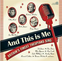 And This Is Me - British Thespians Sing Classic Album NEW CD Bernard Cribbins