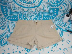 """Old Navy Linen Khaki Size 14 New with Tags NWT 4"""""""
