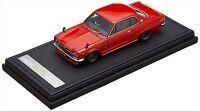ignition model 1/43 Nissan Skyline 2000 GT-X (KGC10) Red Resin Model IG0381