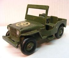 DINKY #669 Large Army Military Jeep With Star On Hood