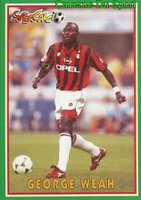 185 GEORGE WEAH LIBERIA AC.MILAN STICKER SUPERCALCIO 1997 PANINI