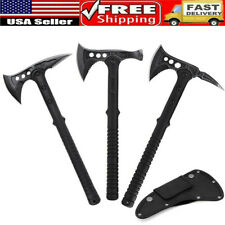 """16"""" Outdoor Axe Camping Hunting Tactical Tomahawk Hatchet  Blade Survival Knife"""