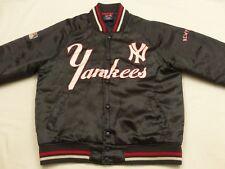 * New York Yankees Retro Starter Bomber Veste * MBL * gris * USA * Vintage * Gr: L * TIP TOP