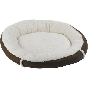 Mollies Fleece Pet Bedding Faux Suede Cat Dog Bed Cushion Kitten Puppy Basket