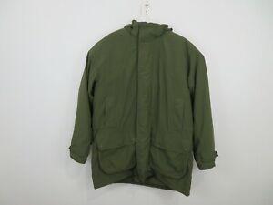 Barbour Linhope Endurance 3 In 1 Parka Jacket Hooded Winter Green Mens Size XL