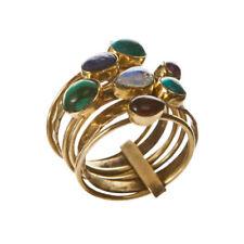 Anillos de bisutería anillo con piedra de color principal oro