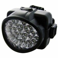 32 LED ADJUSTABLE HARD SAFETY HAT CYCLE HELMET NIGHT LIGHT HEADLIGHT  S1511