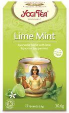 YOGI Tea LIME MINT - 17 Sacchetti