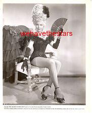 Vintage Ann Miller LONG SEXY LEGS 40s EADIE WAS A LADY Publicity Portrait