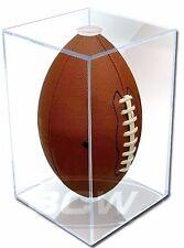 4 Pro Mold Full Size Football Display Cases UV NFL Holder FREE SHIP PCFootball