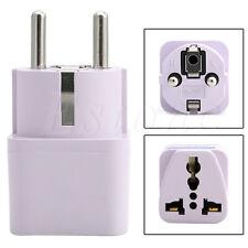 Universal US AU UK to EU Socket Plug AC Power Travel Charger Adapter Converter