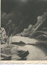 ESTEBE MICHEL GRAVURE 1991 SIGNÉ AU CRAYON NUMÉROTÉE/250 HANDSIGNED NUMB ETCHING