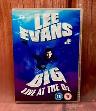 Lee Evans Big Live At The O2 Dvd in case great condition comedy film movie 2008