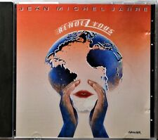 CD Jean Michel Jarre Rendez-Vous West Germany French Electronic Rock Full Silver