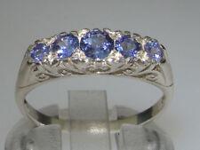 Tanzanite Natural Round Fine Gemstone Rings