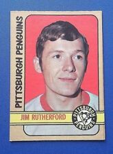 1972/73 OPC #15 JIM RUTHERFORD RC. NM CENTERED