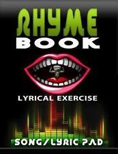 Lyrical Exercise My Rhyme Book Song/Lyric Pad by Jeris Booker (2015, Paperback)